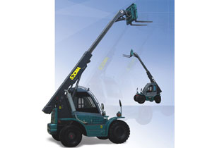 4WD Telescopic Loader, 2.5T Telehandler